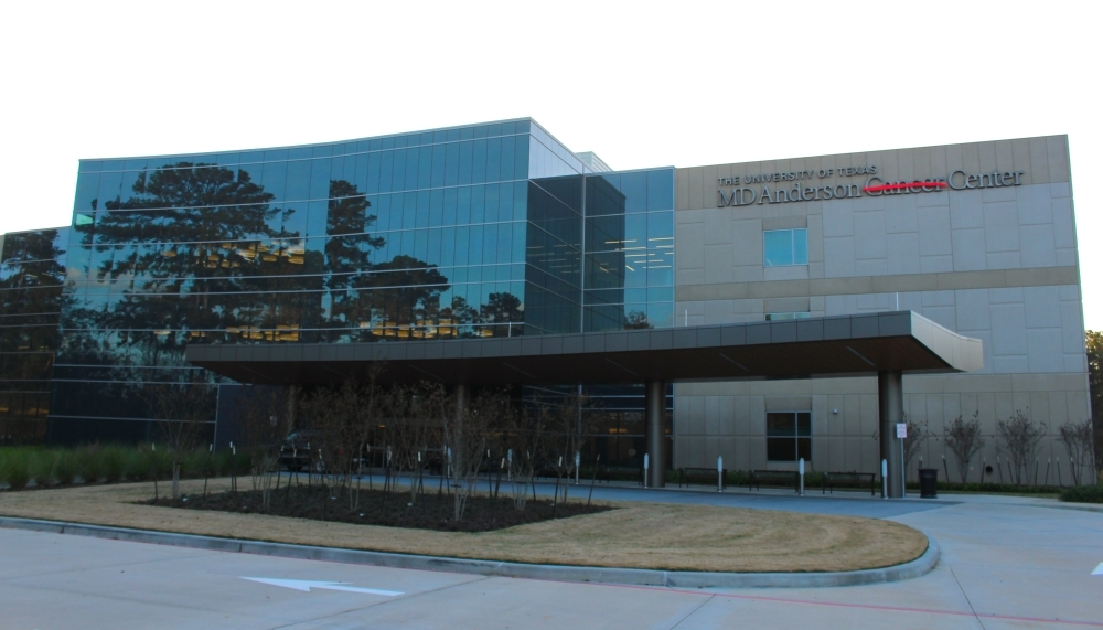 The MD Anderson Cancer Center in The Woodlands opened last fall. (Ben Thompson/Community Impact Newspaper)