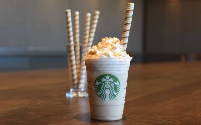 The business serves traditional coffees and teas as well as snacks and pastries. (Courtesy Starbucks)