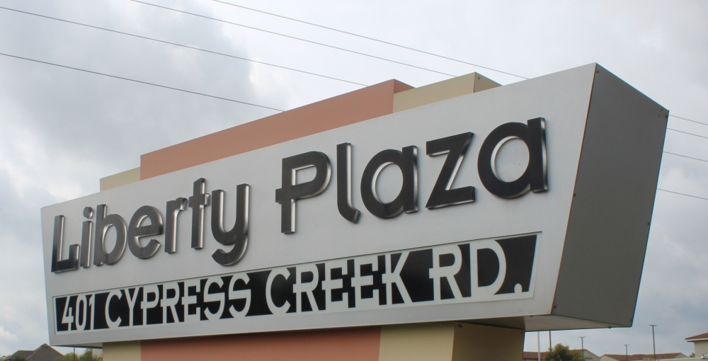 Cedar Park Barbershop will open in Liberty Plaza in June, according to the owner. (Brian Perdue/Community Impact Newspaper)