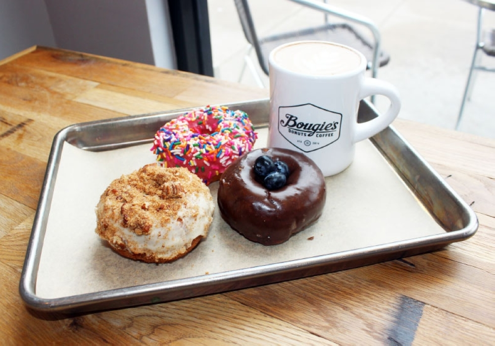 Bougie's Donuts & Coffee (Olivia Lueckemeyer/Community Impact Newspaper)