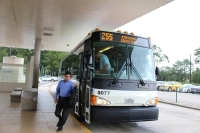 The Metropolitan Transit Authority of Harris County is limiting its bus capacity to 50% during the ongoing coronavirus pandemic. (Kelly Schafler/Community Impact Newspaper)
