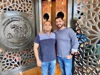 AJ (left) and VJ (right) Jain, owners of Delhi 6 Indian Kitchen, have started providing to-go and delivery orders while dine-in services are temporarily shut down. (Courtesy Delhi 6 Indian Kitchen)