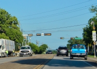 Texas Department of Transportation is widening Manchaca Road from Ravenscroft Drive to FM 1626. (Nicholas Cicale/Community Impact Newspaper)