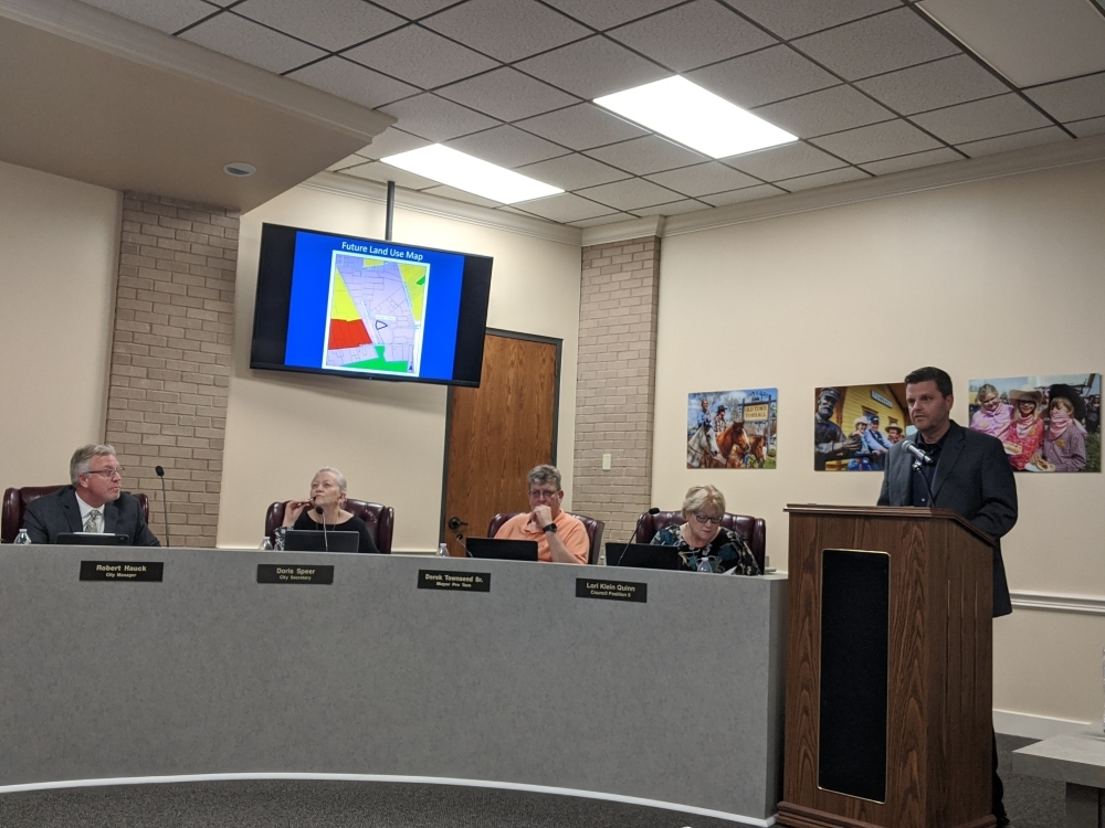 The facility would include a 10,000-square-foot building with an indoor brewery, restaurant, beer garden and playground with space for future building and parking areas, Community Development Director Craig Meyers said during the March 16 meeting.