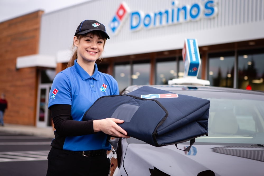 Domino's is among the businesses hiring in the midst of the coronavirus outbreak. (Courtesy Domino's)