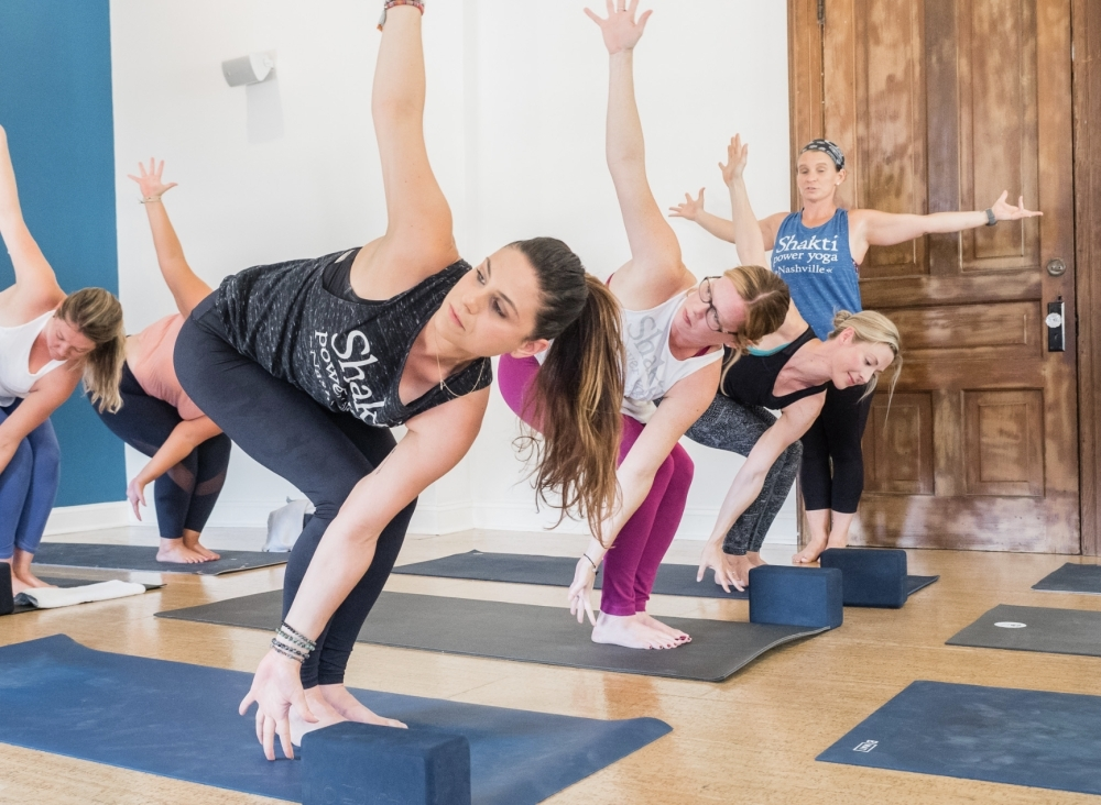 Shakti Power Yoga, located on Music Row, is one of several yoga studios in Nashville offering online classes during the coronavirus outbreak. (Courtesy Shakti Power Yoga)