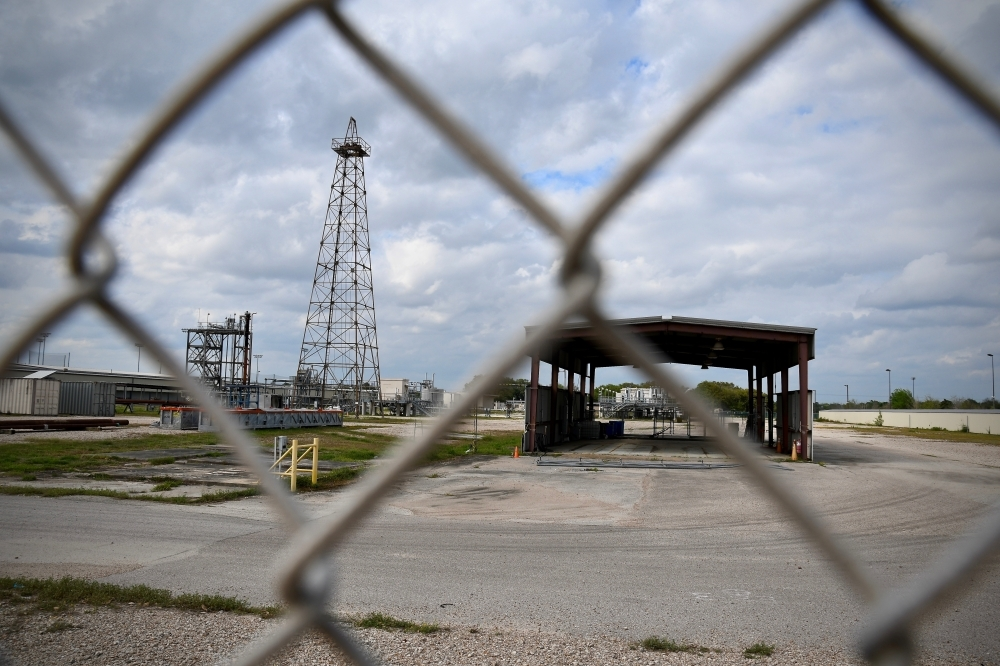 A former Shell research facility adjacent to the Willow Waterhole was purchased by the city of Houston in October. A portion of the site could be the new home of a community performance space. (Hunter Marrow/Community Impact Newspaper)