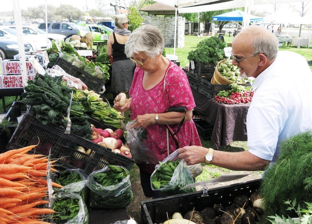The Dripping Springs Farmers Market will be open March 25. (Courtesy Dripping Springs Farmers Market)