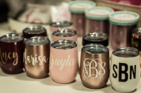 One activity Bay Area residents can do from home is decorate drink tumblers. (Courtesy Frisco Craft Studio)