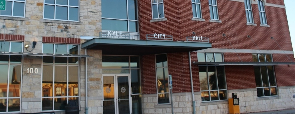 Kyle City Council members held a special called meeting March 23 via Zoom. (Community Impact Newspaper Staff)