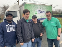 Waves provides jobs, in part, through its office recycling program for adults with intellectual and developmental disabilities. (Courtesy Waves Inc.)