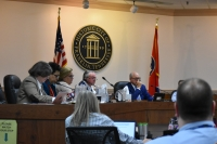 """Mayor Ken Moore announced a """"Stay at Home"""" order on March 24 in order to slow the spread of COVID-19, or coronavirus, in the city. (Alex Hosey/Community Impact Newspaper)"""