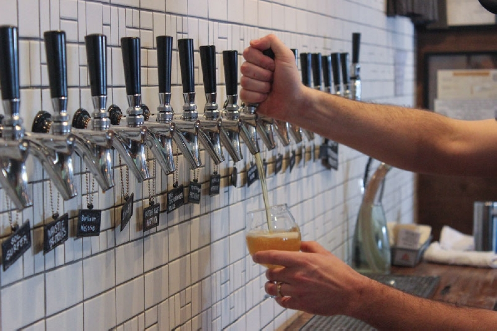 Local breweries are facing declining revenues with taproom closures and shelter-in-place orders. The Texas Craft Brewers Guild on March 23 sent a petition with more than 12,000 signatures to Gov. Greg Abbott asking to relax state rules to help. (Christopher Neely/Community Impact Newspaper.)