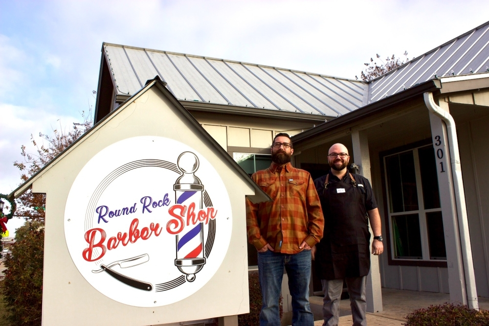 "Dennis Burky and Will Santoliquido, owners of Round Rock Barber Shop, announced March 24 a temporary closure of their barber shop ""until further notice."" Round Rock Barber Shop is one of a number of small businesses forced to temporarily shutter following a Williamson County stay-at-home order issued this week."