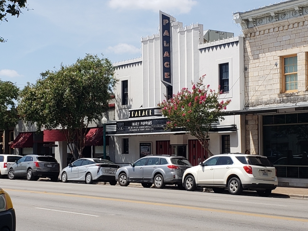 The Georgetown Palace Theatre has suspended productions for eight weeks, but will put on a virtual show March 26 via Facebook Live. (Ali Linan/Community Impact Newspaper)