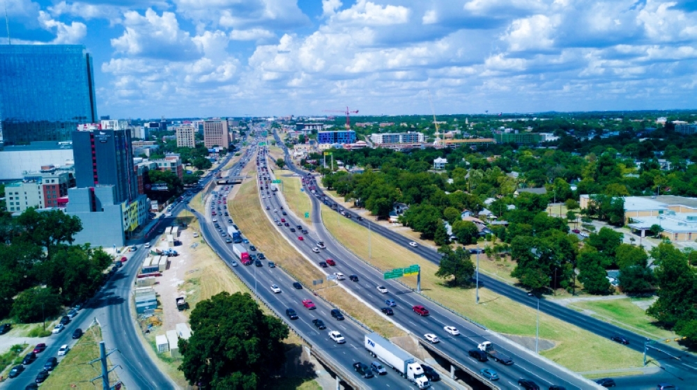 The 8-mile stretch of I-35 through Central Austin may be getting its first significant upgrade in nearly 50 years. (Courtesy Jeremy Lohr)