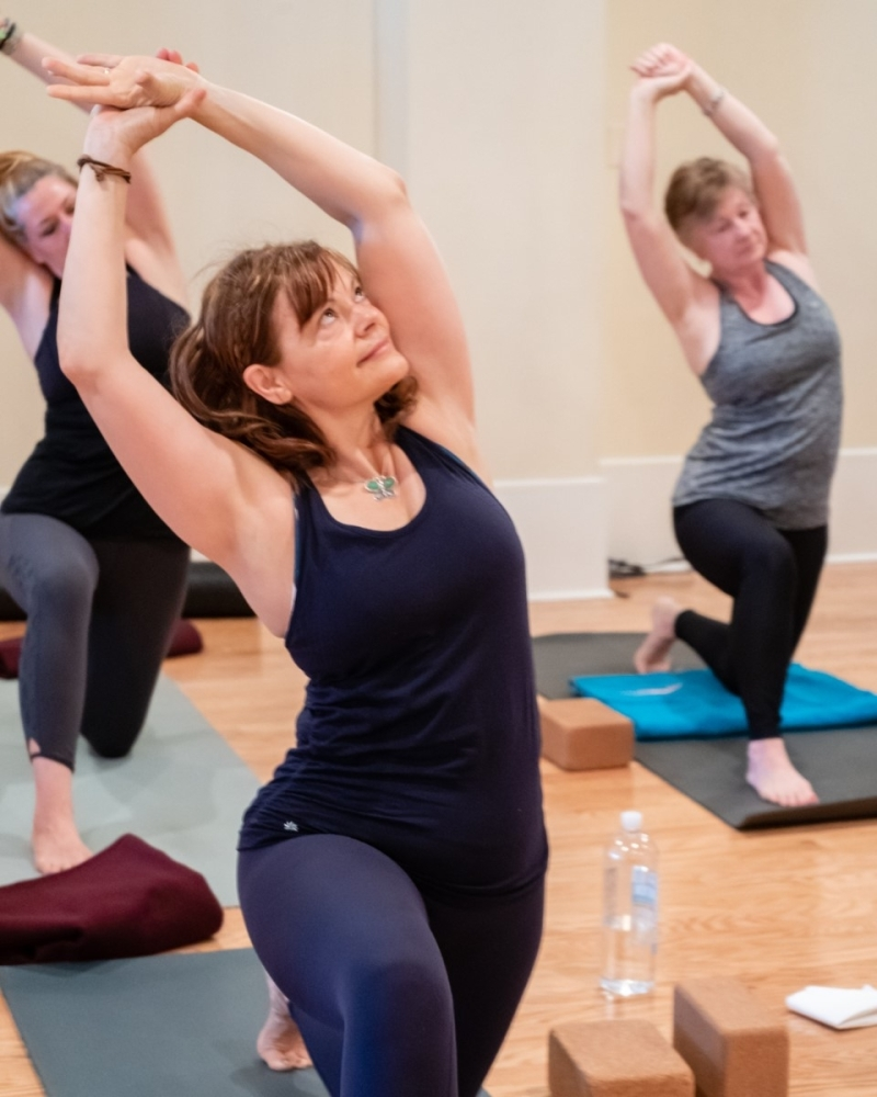 The Woodlands Yoga Studio is now offering online classes free of charge after closing on March 17. (Photo by The Woodlands Yoga Studio)
