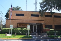 Fort Bend County Commissioners Court approved an item related to expanding the emergency operations center building, which is currently located at 307 Fort St., Richmond. (Jen Para/Community Impact Newspaper)