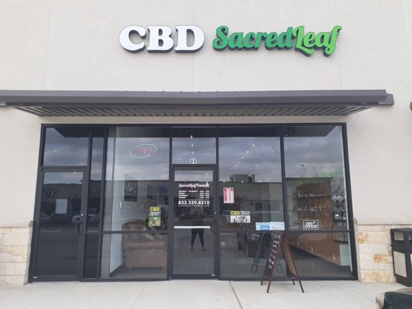 Sacred Leaf Tomball offers organic cannabidiol products. (Courtesy Sacred Leaf Tomball)