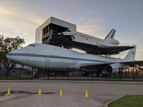 Space Center Houston stock photo, SCH
