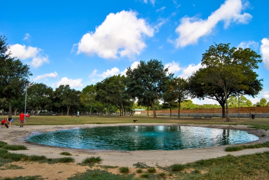 Katy's dog park is closed until further notice. (Courtesy Jess Washburn/City of Katy)