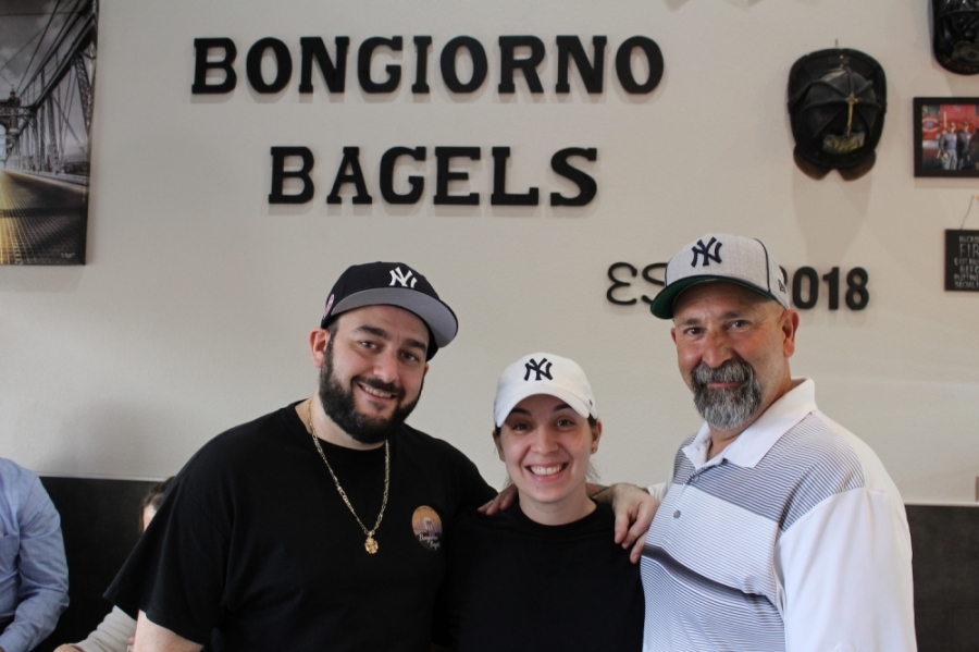 Bongiorno Bagels, John Bongiorno, Sam Bongiorno, Ed Cancro