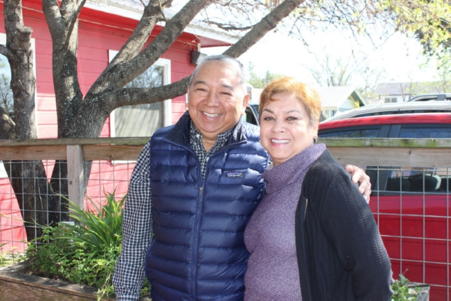 Owners and founders Aurelio and Rosa Torres opened Mi Madre's 30 years ago and have since grown it from a 10-seat taco shop to a Tex-Mex restaurant. (Photos by Emma Freer/Community Impact Newspaper)