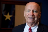 Rep. Kevin Brady, R-The Woodlands, spoke about the CARES Act and his involvement in the package's development March 27. (AP Photo/Manuel Balce Ceneta)