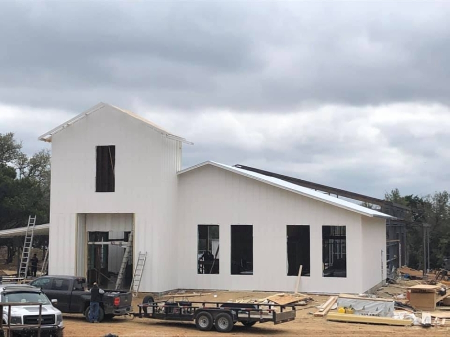 Fitzhugh Brewing has been under construction since 2019 and is planning for a summer opening in the Dripping Springs area. (Courtesy Fitzhugh Brewing)