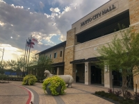 Hutto City Council members are looking to the federal economic stimulus legislation signed March 27 to see whether and how it can help the 48 city workers laid off last week. (Kelsey Thompson/Community Impact Newspaper)