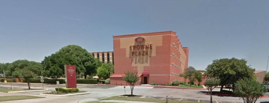 The Crowne Plaza Hotel is located at 6121 N. I-35 in North Central Austin. (Courtesy Google Maps)