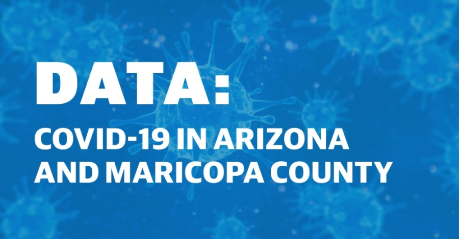 See a breakdown of COVID-19 in Arizona and in Maricopa County. (Graphic by Community Impact Newspaper staff)
