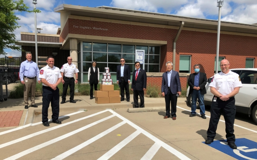 Community Steps Up To Provide Medical Gear Sanitation