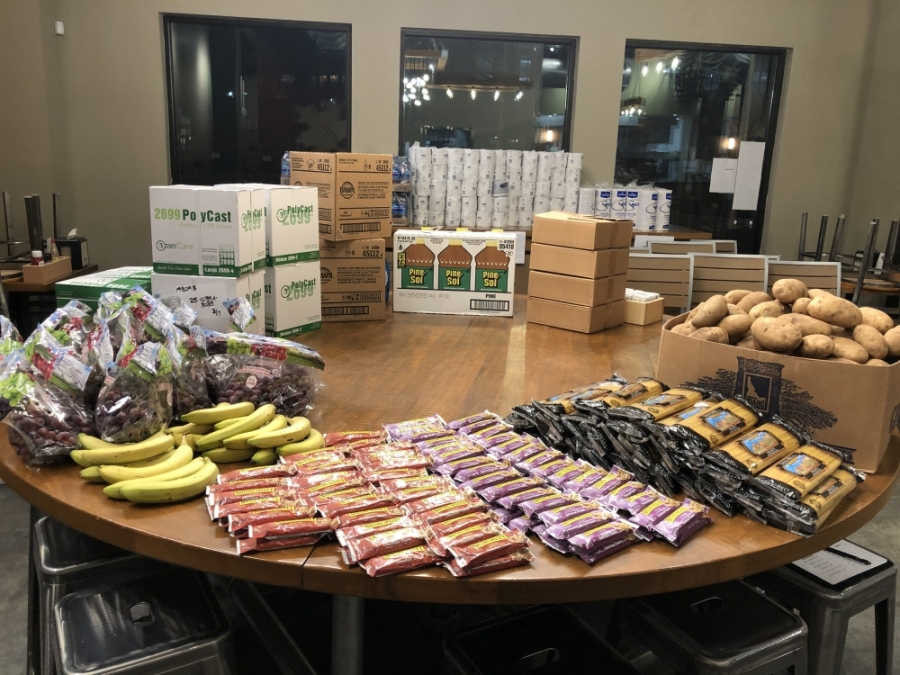 Alpharetta's Maple Street Biscuit Co. starts meal program for health care workers, offers groceries to community