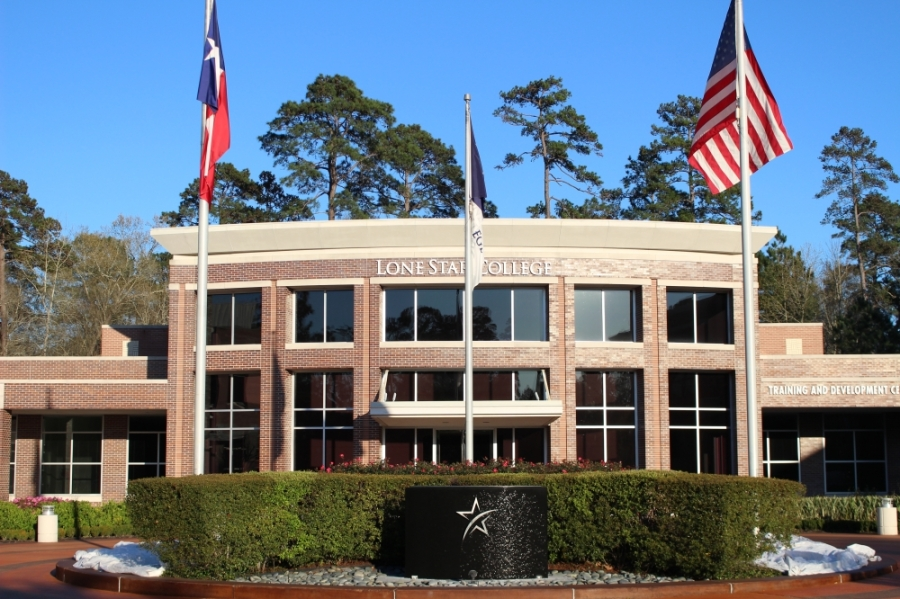 The Lone Star College Small Business Development Center is located in the Lone Star College System Building. (Photo by Andrew Christman/Community Impact Newspaper)