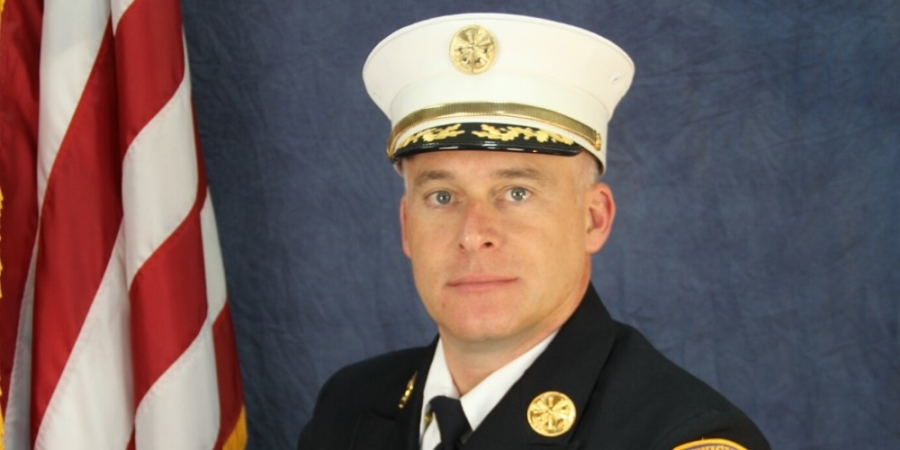 Lewisville Assistant Fire Chief Mark McNeal has been selected to become fire chief of the Lewisville Fire Department. (Courtesy city of Lewisville)