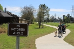 P{hase 1 of the Atascocita Hike & Bike Trail was finished in June. (Kelly Schafler/Community Impact Newspaper)