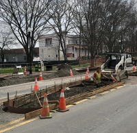 Construction on Canton Street