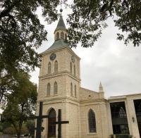 First Protestant Church of New Braunfels was founded in 1845. (Ian Pribanic/Community Impact Newspaper)