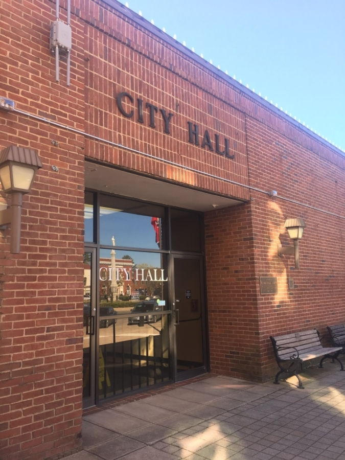 Franklin City Hall will close until further notice. (Wendy Sturges/Community Impact Newspaper)