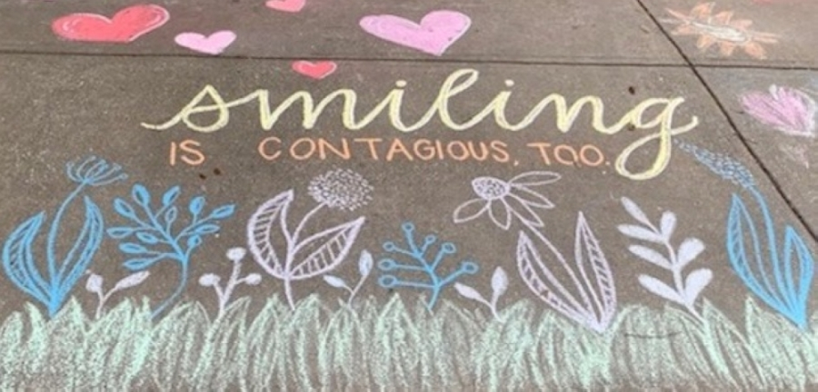 A Leander realty company recently sponsored a sidewalk chalk art contest called a Chalk Art Walk in three Leander neighborhoods. (Courtesy Andrew Fox)