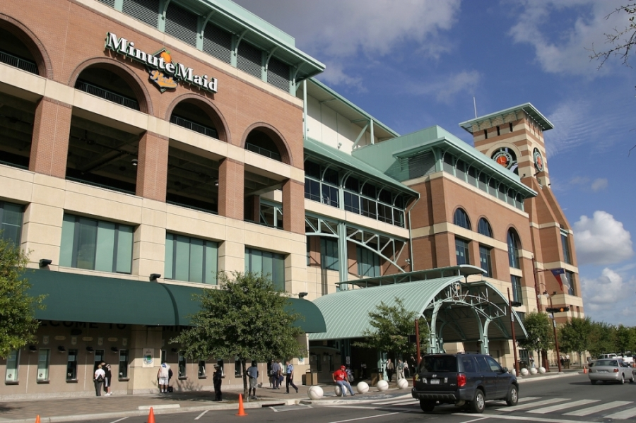 Donations of protective supplies for Houston's first responders can be given at Minute Maid Park on April 9 from noon-3 p.m. (Courtesy Visit Houston)
