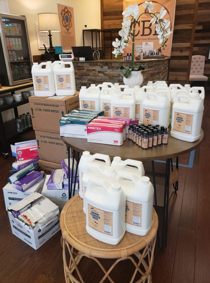 The CBD American Shaman location on North Plano Road in Richardson has received a shipment of of the Shaman Cleansing Wash. (Courtesy CBD American Shaman of Richardson)