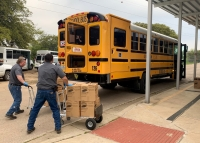 Georgetown ISD Backpack Buddies program delivers food to the homes of GISD students most at risk of food insecurity. (Courtesy Georgetown ISD Backpack Buddies Program)