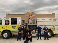 Adriatic Cafe Italian Grill, which has locations in Tomball, Cy-Fair and Spring, provided meals for the Klein Fire Department and health care workers at Houston Methodist Willowbrook Hospital. (Courtesy Adriatic Cafe Italian Grill)