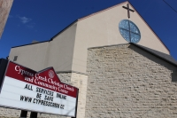 While the facilities of the Cypress Creek Christian Church and Community Center remain closed, the church is hosting weekly services online. (Hannah Zedaker/Community Impact Newspaper)
