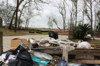 Figure Four Partners, a subsidiary of Perry Homes, has offered to let government partners purchase Woodridge Village, a 268-acre development that Kingwood residents allege caused flooding in their communities, such as Elm Grove Village. (Kelly Schafler/Community Impact Newspaper)