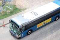 A Capital Metro employee who worked as a bus mechanic has died after testing positive for the coronavirus. (Jack Flagler/Community Impact Newspaper)