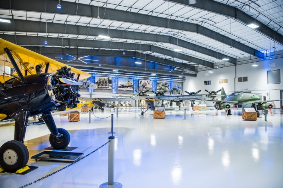 During its temporary closure, the Lone Star Flight Museum is offering virtual experiences and sharing content via its social media pages. (Courtesy of Lone Star Flight Museum)