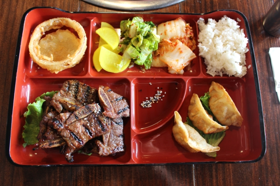Pearland and Friendswood restaurants, including Seoul Pig Korean Restaurant, are offering takeout, curbside and delivery services. (Haley Morrison/Community Impact Newspaper)